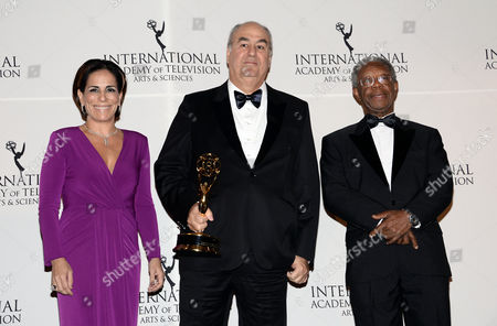 Editorial image of 2014 International Emmy Awards Gala - Press Room, New York, USA