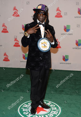 William Jonathan Drayton, Jr Flavor Flav arrives at the 15th annual Latin Grammy Awards at the MGM Grand Garden Arena, in Las Vegas