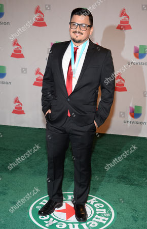 Ricky Luna arrives at the 15th annual Latin Grammy Awards at the MGM Grand Garden Arena, in Las Vegas