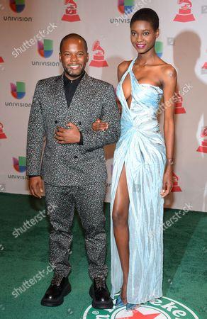 Editorial image of 2014 Latin Grammy Awards - Arrivals, Las Vegas, USA