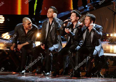 Editorial picture of 2014 Latin Grammy Awards - Show, Las Vegas, USA