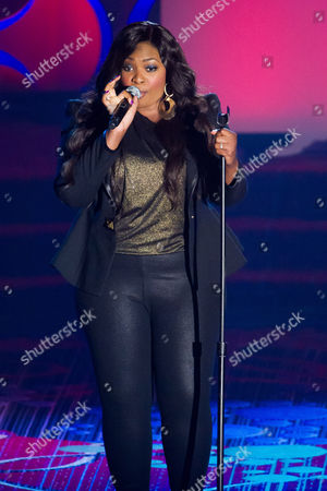 Candice Glover performs at the Songwriters Hall of Fame Awards on in New York