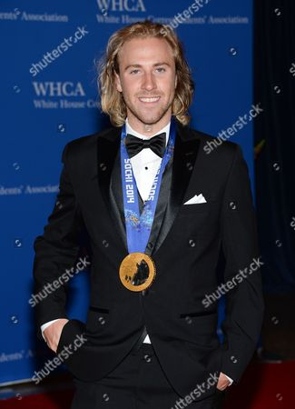 Stock Picture of Snowboarder Sage Kotsenburg attends the White House Correspondents' Association Dinner at the Washington Hilton Hotel, in Washington