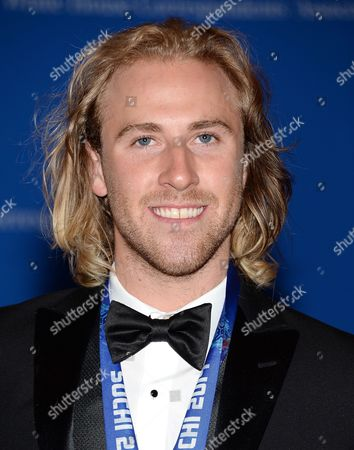Snowboarder Sage Kotsenburg attends the White House Correspondents' Association Dinner at the Washington Hilton Hotel, in Washington
