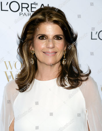 President, L'Oreal Paris, Karen Fondu, arrives at the Ninth Annual Women of Worth Awards hosted by L'Oreal Paris at The Pierre hotel, in New York