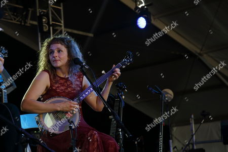 Abigail Washburn performs at the 2015 Bonnaroo Music and Arts Festival, in Manchester, Tennessee