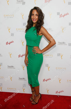 Christel Khalil seen at the Television Academy's 67th Emmy Daytime Peer Group Celebration at the Montage Beverly Hills on in Beverly Hills, Calif
