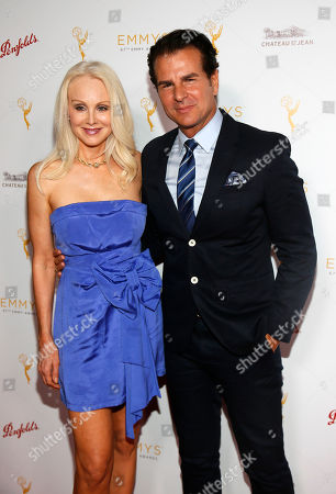 Donna Spangler, left, and Vincent De Paul seen at the Television Academy's 67th Emmy Daytime Peer Group Celebration at the Montage Beverly Hills on in Beverly Hills, Calif