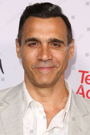 Adrian Paul arrives at the 2015 Dynamic and Diverse Emmy Celebration at the Montage Hotel, in Beverly Hills, Calif