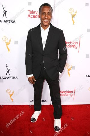 Andre Royo arrives at the 2015 Dynamic and Diverse Emmy Celebration at the Montage Hotel, in Beverly Hills, Calif