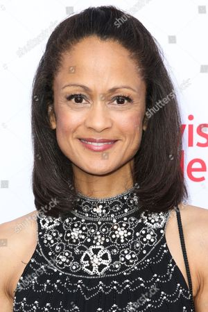 Anne-Marie Johnson arrives at the 2015 Dynamic and Diverse Emmy Celebration at the Montage Hotel, in Beverly Hills, Calif