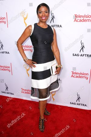 Stock Picture of Areva Martin arrives at the 2015 Dynamic and Diverse Emmy Celebration at the Montage Hotel, in Beverly Hills, Calif
