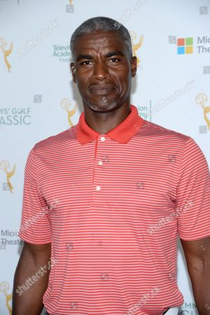 Stock Image of Charles Parnell is seen at the 16th Emmys Golf Classic presented by the Television Academy Foundation at the Wilshire Country Club on in Los Angeles