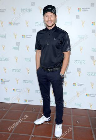 Jason Dundas is seen at the 16th Emmys Golf Classic presented by the Television Academy Foundation at the Wilshire Country Club on in Los Angeles