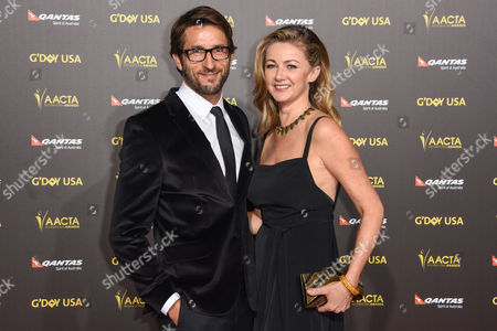 Jonathan LaPaglia, left and guest attend the 2015 G'DAY USA GALA at the Hollywood Palladium, in Los Angeles