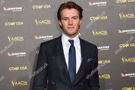 Thomas Cocquerel attends the 2015 G'DAY USA GALA at the Hollywood Palladium, in Los Angeles