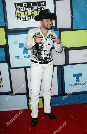 Roberto Tapia poses backstage at the Latin American Music Awards at the Dolby Theatre, in Los Angeles