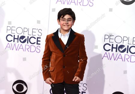 Blake Garrett Rosenthal arrives at the People's Choice Awards at the Nokia Theatre, in Los Angeles