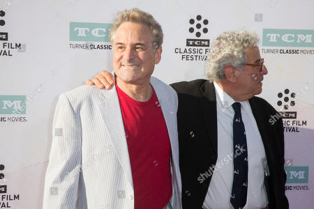 """Barry Pearl, left, and Michael Tucci arrive at the 2015 TCM Classic Film Festival Opening Night Gala """"The Sound Of Music"""" at TCL Chinese Theatre on in Los Angeles"""