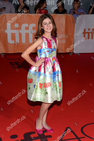 "Ariana Molkara attends a premiere for ""Septembers of Shiraz"" on day 6 of the Toronto International Film Festival at Roy Thomson Hall, in Toronto"