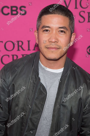 Thakoon Panichgul attends the 2015 Victoria's Secret Fashion Show at the Lexington Armory, in New York. The Victoria Secret Fashion Show will air on CBS on Tuesday, December 8th at 10pm EST
