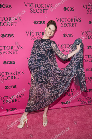 Mary Helen Bowers attends the 2015 Victoria's Secret Fashion Show at the Lexington Armory, in New York. The Victoria's Secret Fashion Show will air on CBS on Tuesday, December 8th at 10pm EST