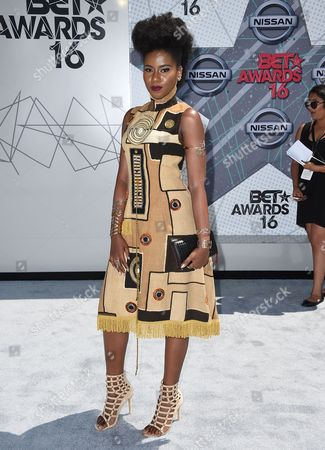 Editorial picture of 2016 BET Awards - Arrivals, Los Angeles, USA
