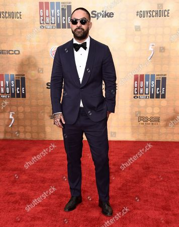 Chris Nunez arrives at the Guys Choice Awards at Sony Pictures Studios, in Culver City, Calif