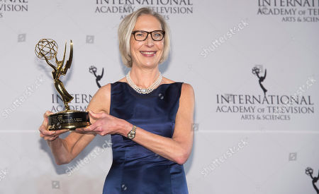 Editorial picture of 2016 International Emmy Awards - Press Room, New York, USA