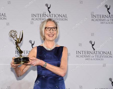Editorial image of 2016 International Emmy Awards - Press Room, New York, USA