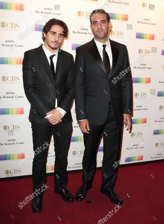 Jake Cannavale, left, and Bobby Cannavale attend the 39th Annual Kennedy Center Honors at The John F. Kennedy Center for the Performing Arts, in Washington, D.C