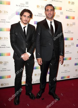 Jake Cannavale, left, and Bobby Cannavale attend the Kennedy Center Honors gala at the Kennedy Center, in Washington