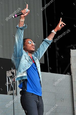 Nayvadius Cash AKA Future performs on day 2 at Lollapalooza in Grant Park, in Chicago