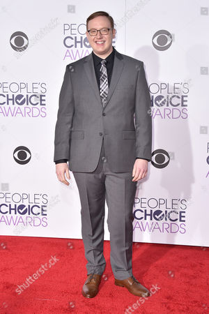 Matt Bellassai arrives at the People's Choice Awards at the Microsoft Theater, in Los Angeles