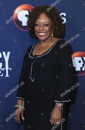"L. Scott Caldwell poses for photos during the ""Mercy Street"" season two portion of the PBS Television Critics Association summer press tour, in Beverly Hills, Calif"