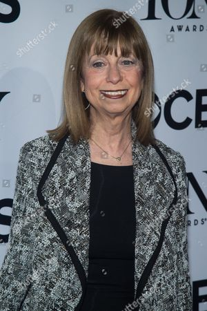 "Stock Image of Joan Lader attends the 2016 Tony Awards ""Meet the Nominees"" press junket at the Paramount Hotel, in New York"