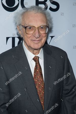 """Sheldon Harnick attends the 2016 Tony Awards """"Meet the Nominees"""" press junket at the Paramount Hotel, in New York"""