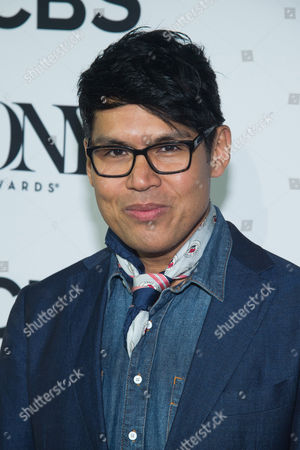 """Clint Ramos attends the 2016 Tony Awards """"Meet the Nominees"""" press junket at the Paramount Hotel, in New York"""