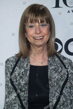 """Stock Picture of Joan Lader attends the 2016 Tony Awards """"Meet the Nominees"""" press junket at the Paramount Hotel, in New York"""
