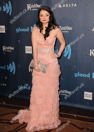 Dakota Hood arrives at the 24th Annual GLAAD Media Awards at the JW Marriott on in Los Angeles