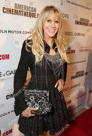 Joan Dangerfield seen at the 28th Annual American Cinematheque Awards Honoring Matthew McConaughey held at The Beverly Hilton, in Beverly Hills