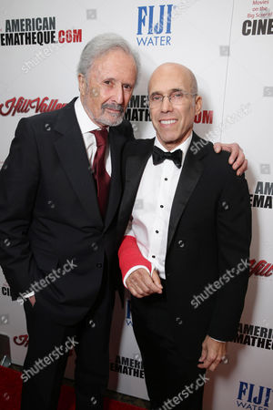 Bert Fields and Jeffrey Katzenberg, CEO of Dreamworks Animation, seen at the 29th annual American Cinematheque Award honoring Reese Witherspoon at Hyatt Regency Century Plaza, in Century City, CA