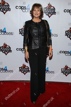 TV personality Cristina Ferrare arrives at the 2nd Annual Heroes Helping Heroes Benefit Concert at The House of Blues on in Los Angeles