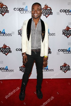 Stock Photo of Recording artist Odain Watson arrives at the 2nd Annual Heroes Helping Heroes Benefit Concert at The House of Blues on in Los Angeles
