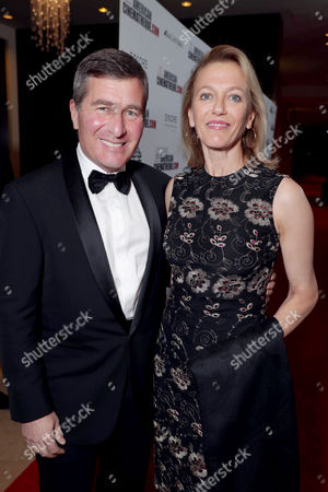 Charles Rivkin and Susan Tolson seen at 30th Annual American Cinematheque Award Honoring Ridley Scott at The Beverly Hilton, in Beverly Hills, CA