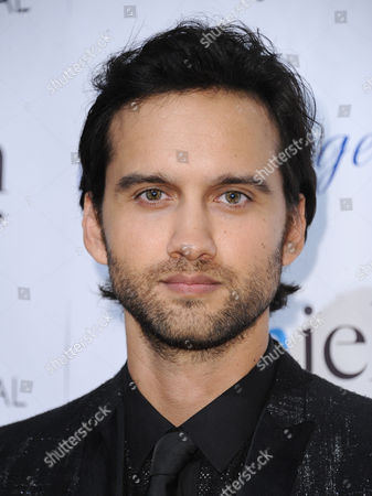 Stock Image of Michael Steger arrives at the 30th annual Imagen Awards at the Dorothy Chandler Pavilion, in Los Angeles