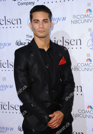 Hector David Jr. arrives at the 30th annual Imagen Awards at the Dorothy Chandler Pavilion, in Los Angeles
