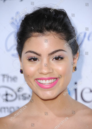 Paola Andino arrives at the 30th annual Imagen Awards at the Dorothy Chandler Pavilion, in Los Angeles
