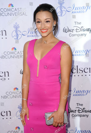 Danielle Vega arrives at the 30th annual Imagen Awards at the Dorothy Chandler Pavilion, in Los Angeles