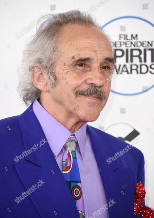 Pepe Serna arrives at the 30th Film Independent Spirit Awards, in Santa Monica, Calif